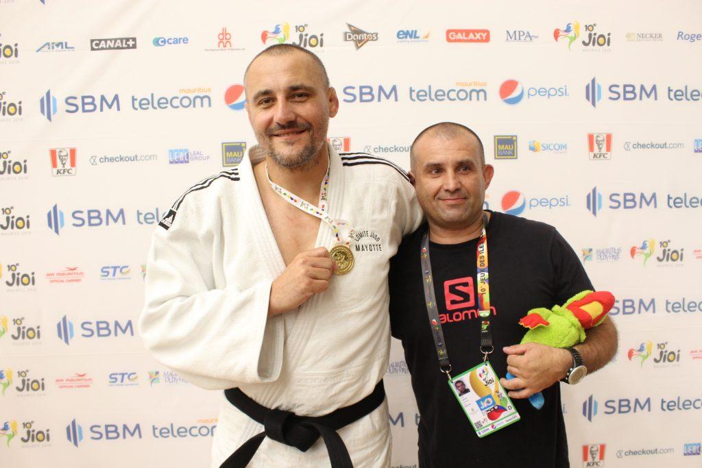 Rudolphe Méchin, Judo Club Chiconi Sada