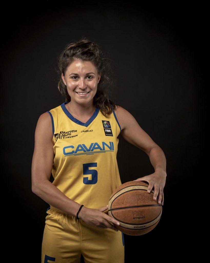 Céline Pfister, Fuz'ellipse Cavani (basket-ball)